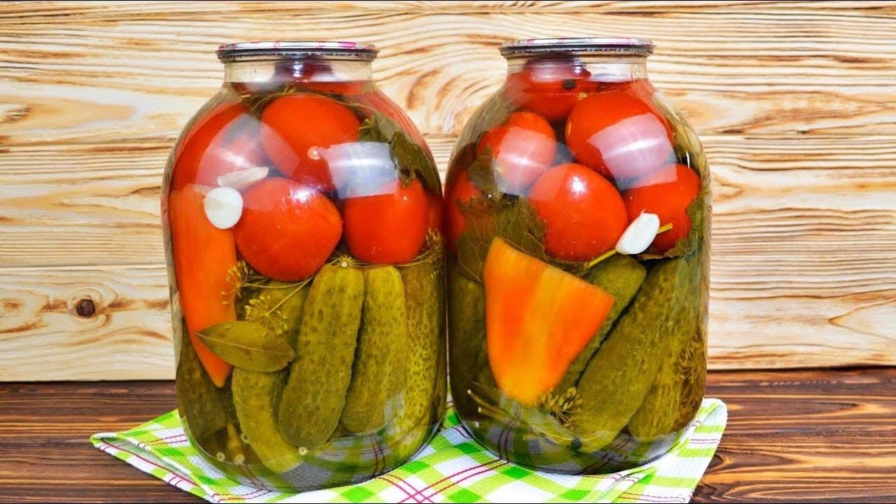 Ассорти из огурцов и помидоров на зиму, самый вкусный рецепт   сабина - женский сайт обо всем