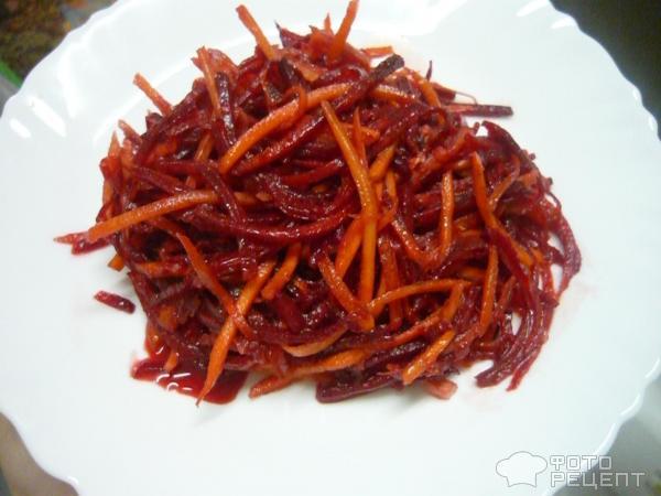 Свекла по-корейски на зиму: рецепты