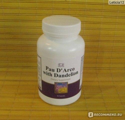 Кора муравьиного дерева pau d'arco - полезные свойства, применение в капсулах бад нсп