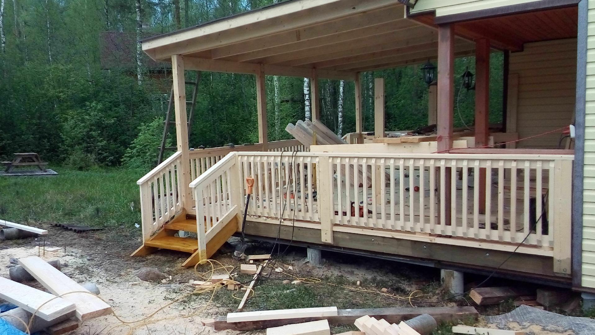 Как пристроить террасу к дому - технология строительства и монтажа. 130 фото красивых террас