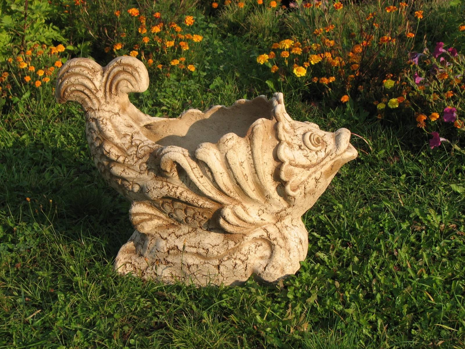 Как можно изготовить своими руками садовые фигуры из гипса и бетона