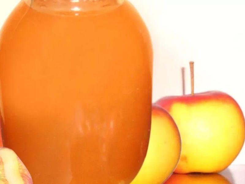 Яблочный сок на зиму пошаговый рецепт