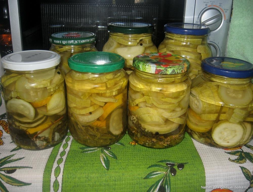 Маринованные молодые кабачки: 7 пошаговых рецептов приготовления на зиму