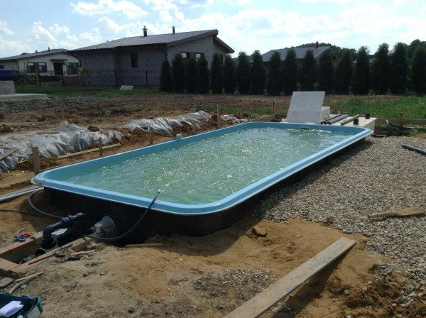 Пошаговая инструкция, как вкопать в землю каркасный бассейн своими руками