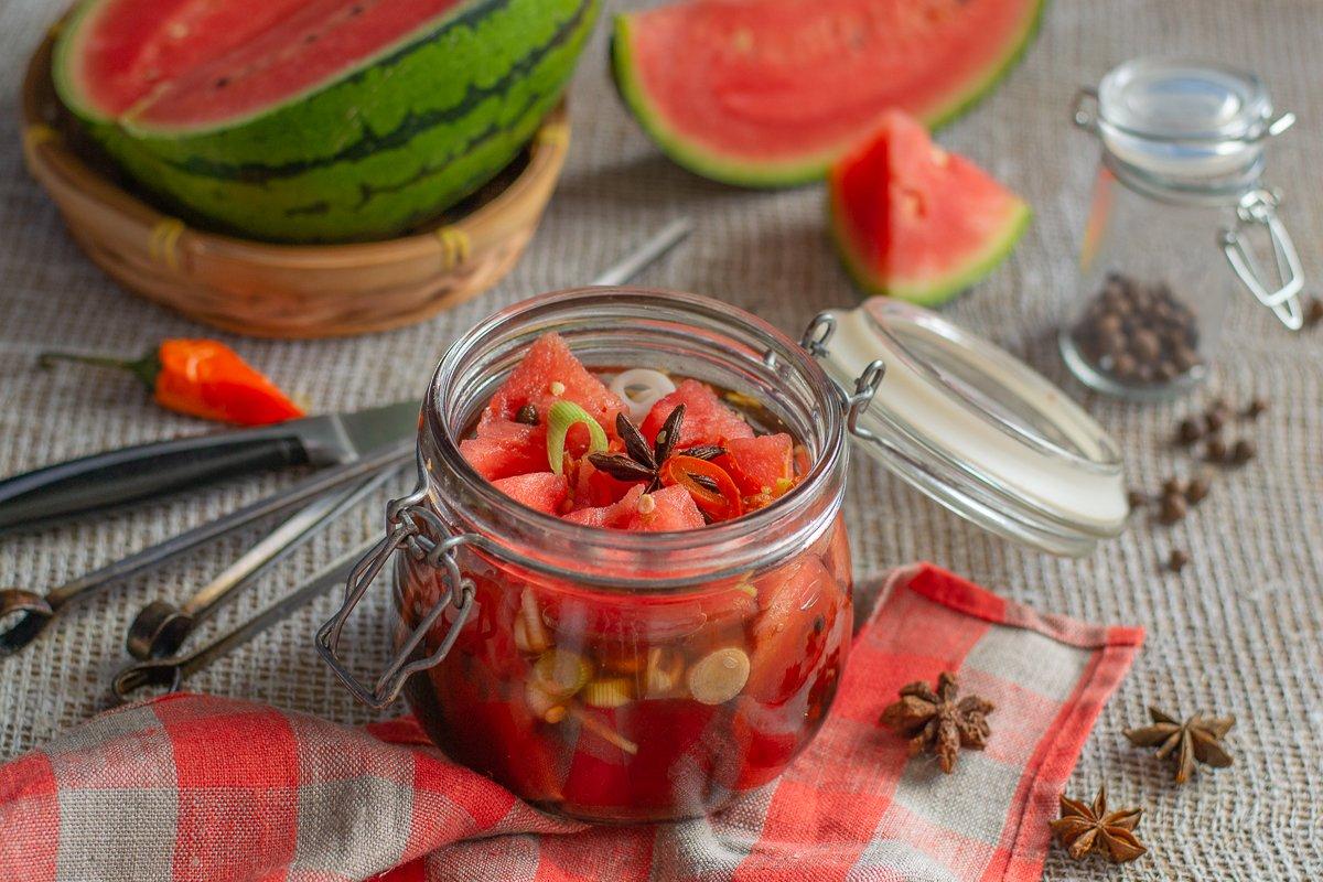 Компот из арбуза на зиму: рецепт с фото пошагово