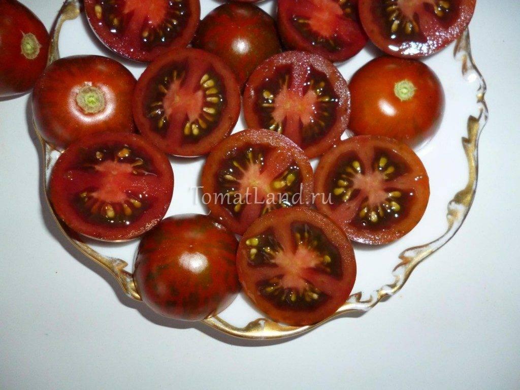 Лучшие сорта черных томатов с фото, описанием и характеристикой