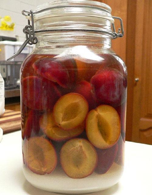 Пошаговый рецепт приготовления компот из яблок на зиму