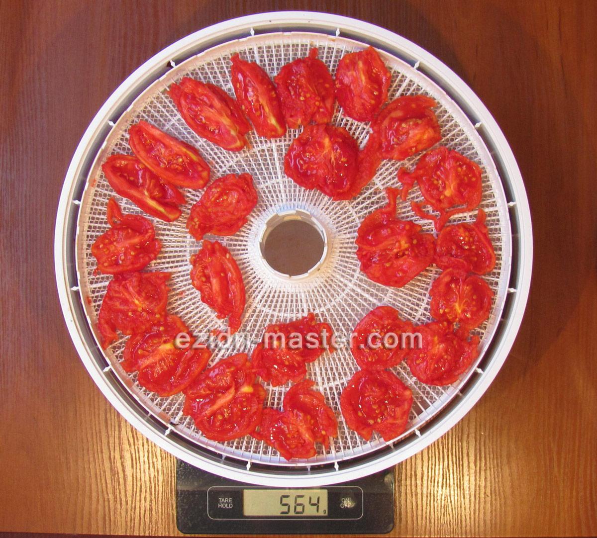 Вяленые помидоры в домашних условиях в электросушилке и духовке