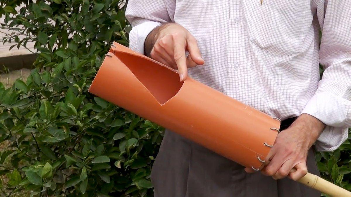 Приспособление для сбора вишни своими руками: пошаговая инструкция