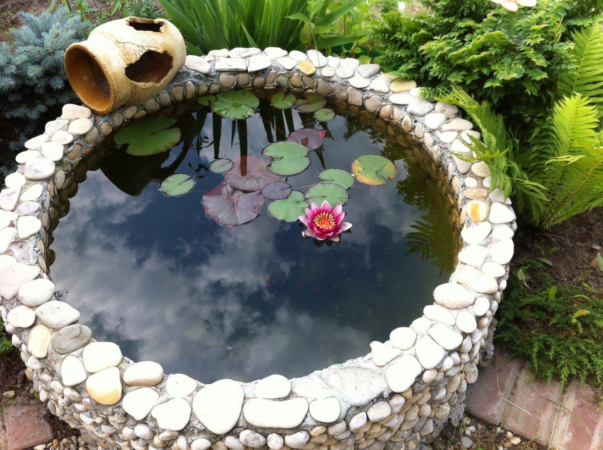 Водоем из старой ванны на даче своими руками: где разместить и как украсить?