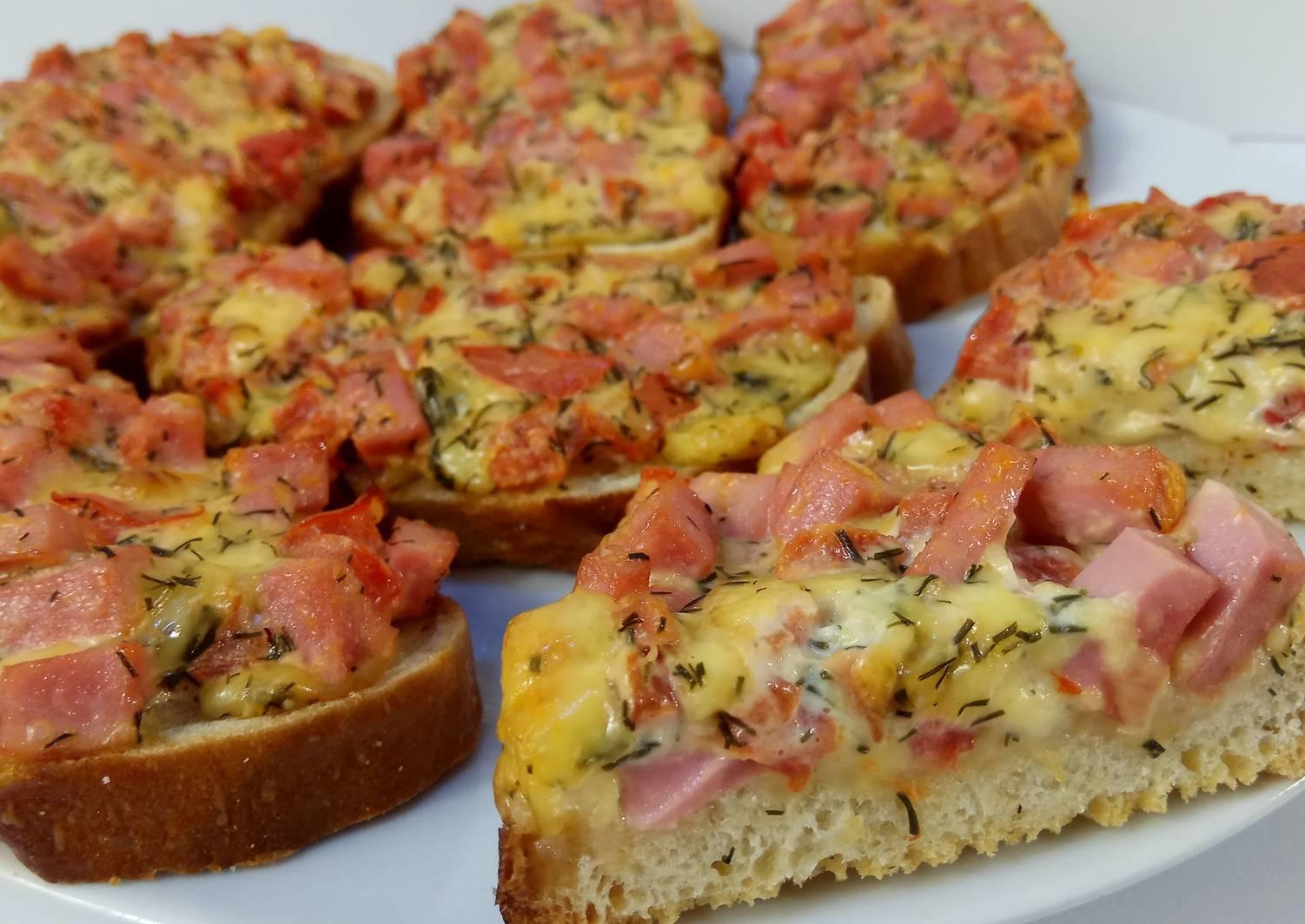 Бутерброды на праздничный стол - 20 простых и вкусных рецептов