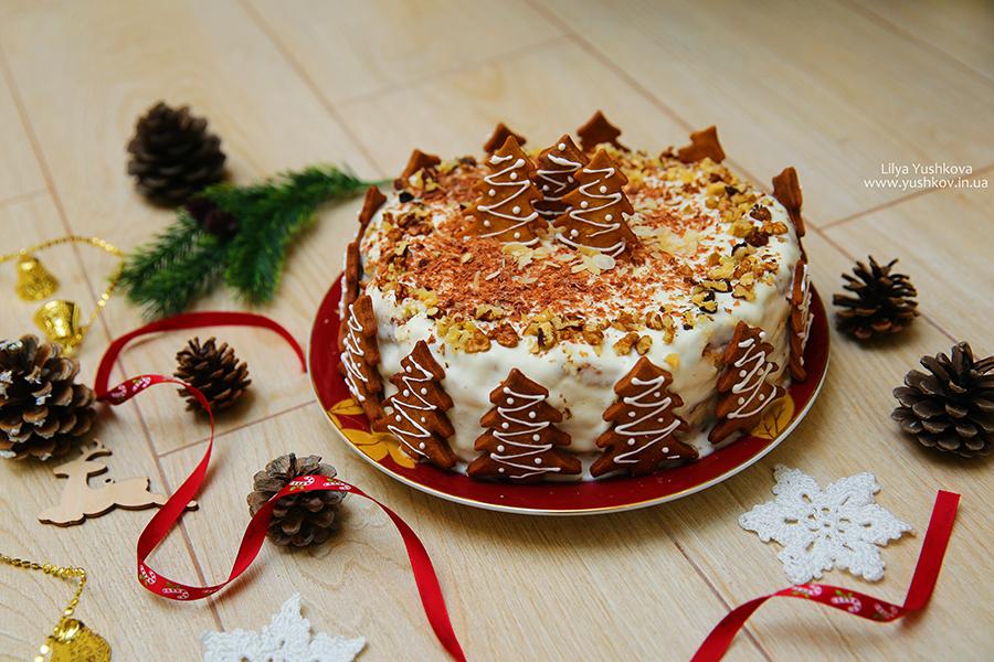 Торт на новый 2021 год — простые рецепты вкусных, красивых, новогодних, домашних тортов