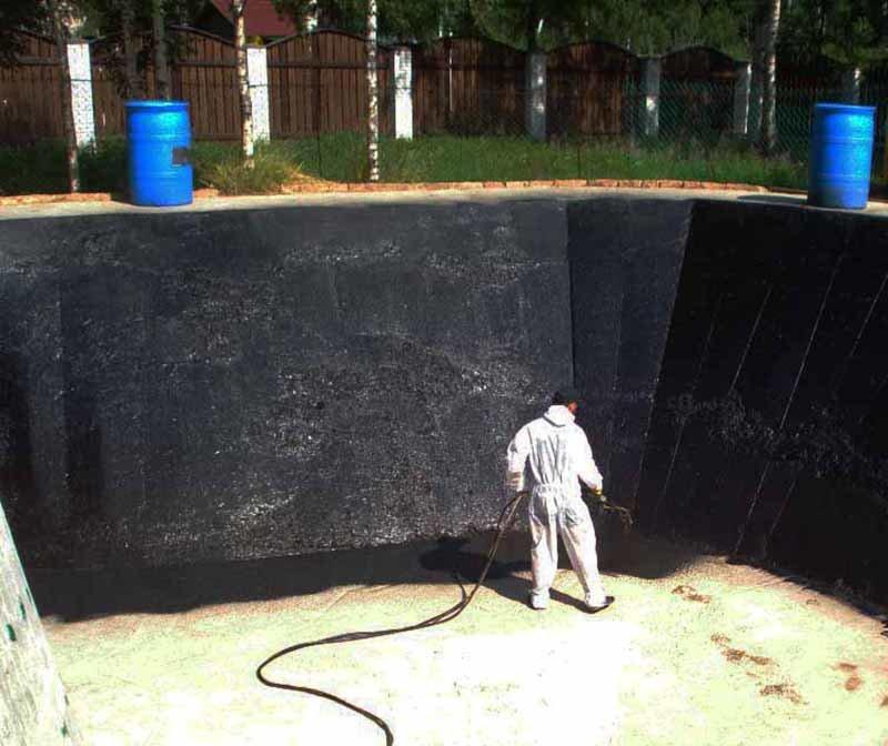 Жидкая резина для гидроизоляции: создание своими руками