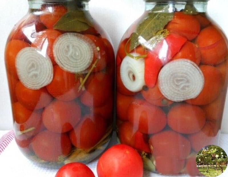 Маринованные помидоры на зиму ну очень вкусные - рецепты на 1 литровую и 3 литровую банку