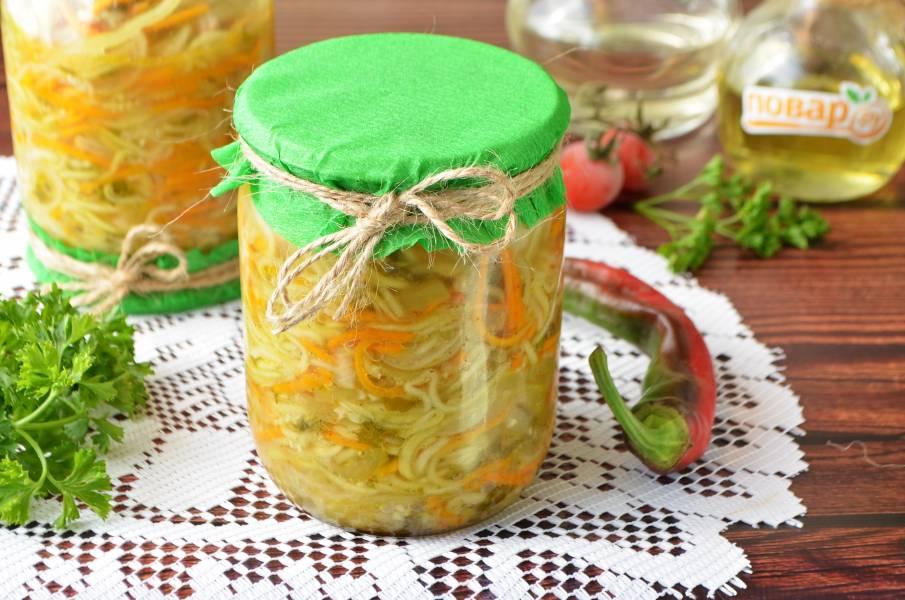 Маринованные кабачки пошаговые рецепты с картинками