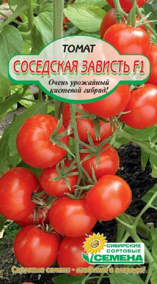 Томат соседская зависть описание сорта фото отзывы - выращивание из семян!