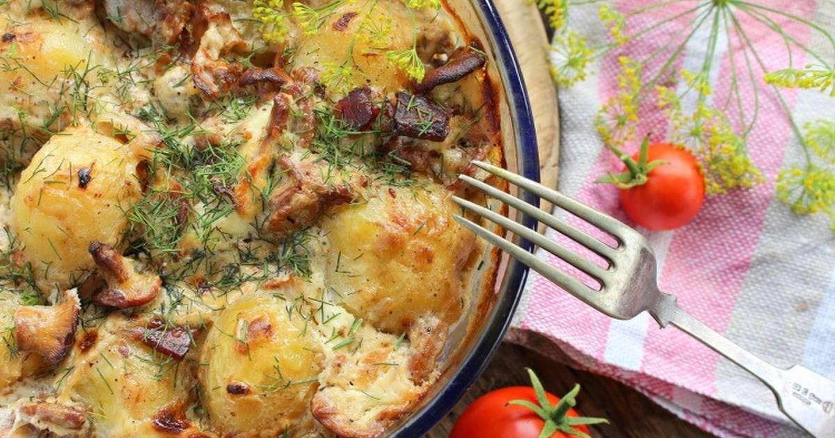 Как запечь картошку в духовке с хрустящей золотистой корочкой