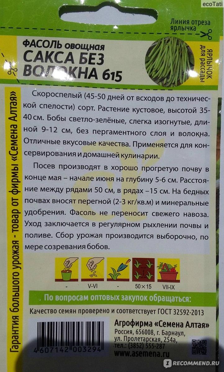 Спаржевая фасоль — разнообразие сортов и особенности выращивания. описание, фото — ботаничка.ru
