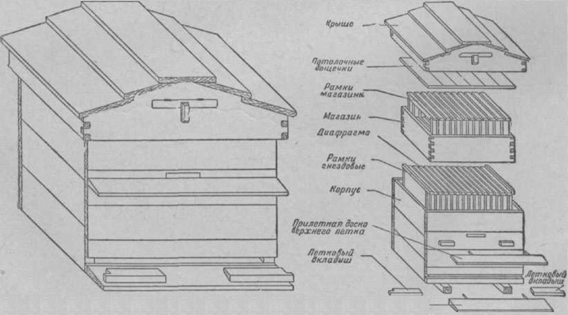 Рамки для ульев — стандартные конструкции, размеры, чертежи и правила изготовления (75 фото)