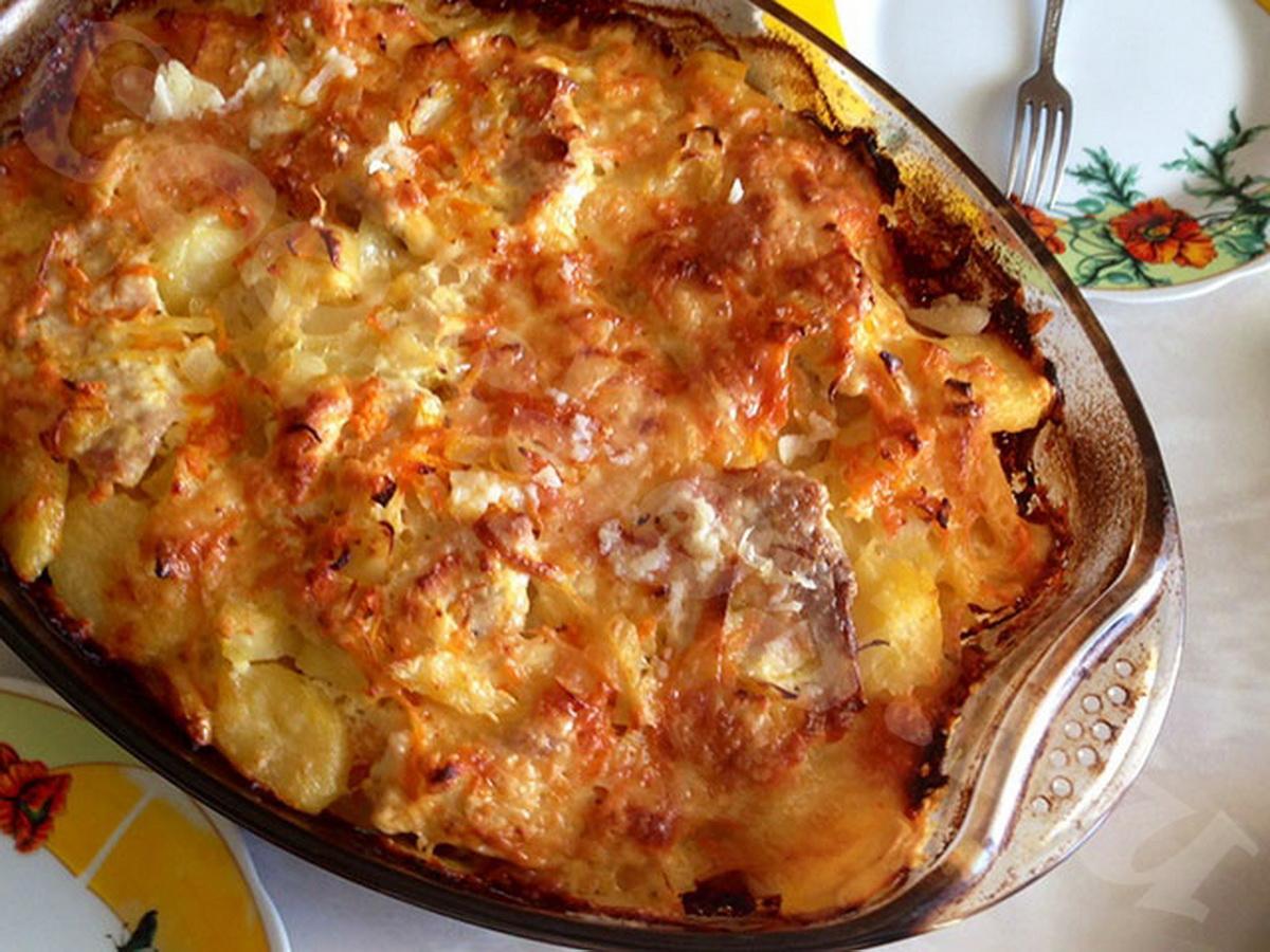 Запеченная в духовке картошка, рецепт со специями