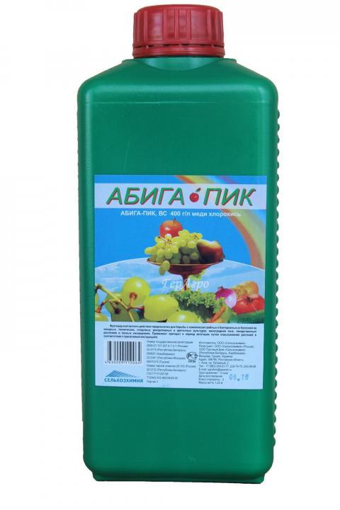 Применение препарата абига пик: инструкция для садовода