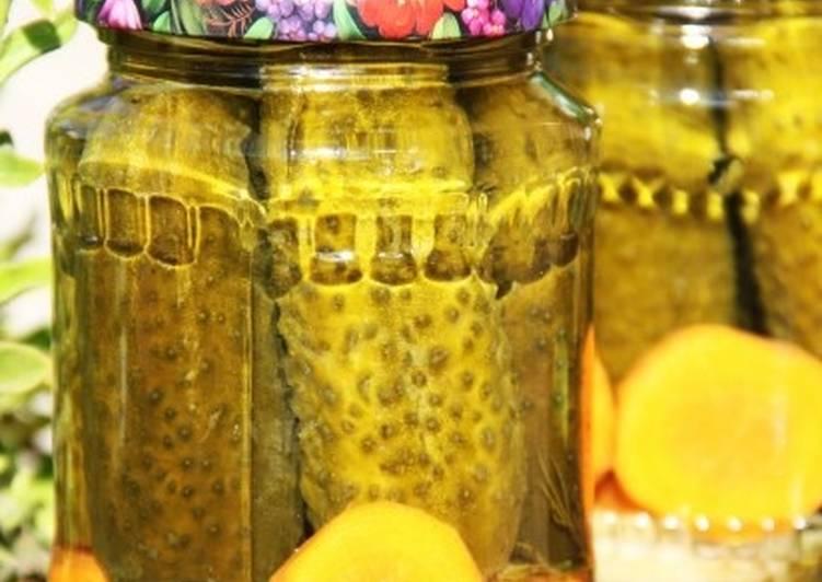 Огурцы маринованные с болгарским перцем на зиму: пошаговые рецепты и полезные советы