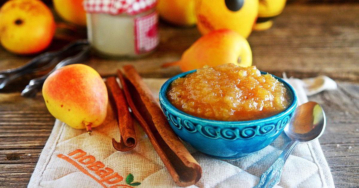 Рецепт варенья из груш дольками   меню недели