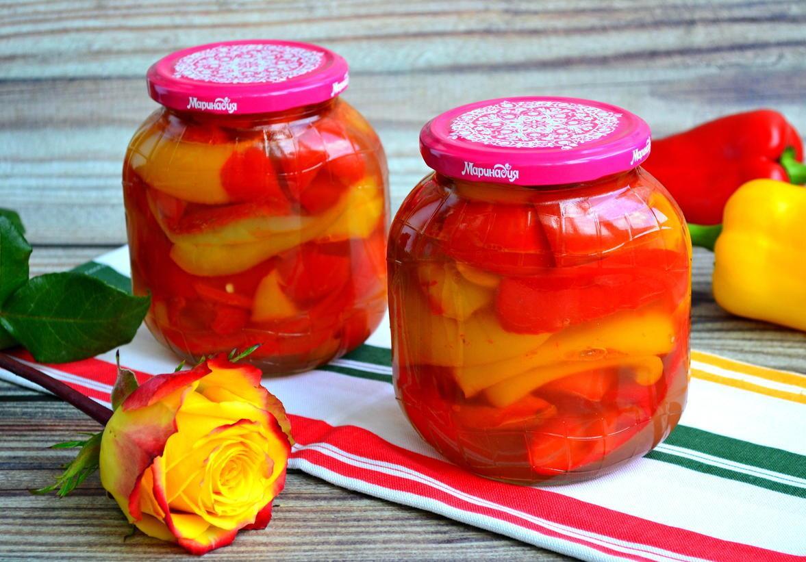 Перец сладкий маринованный на зиму ‒ простые рецепты, пальчики оближешь!