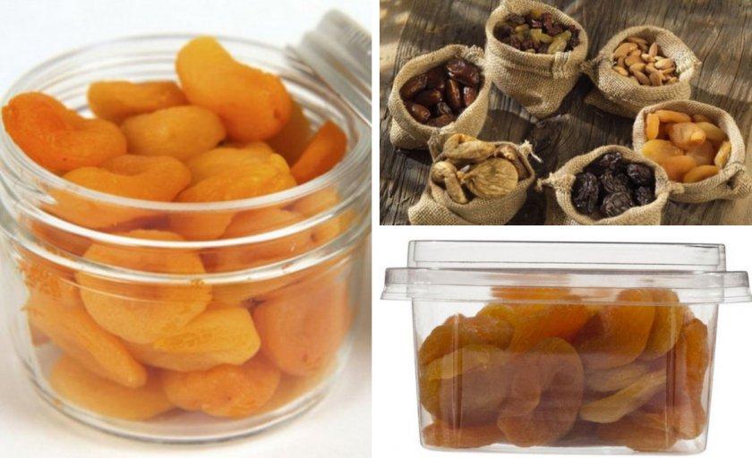 Как хранить сушеные абрикосы в домашних условиях: правила и сроки, выбор места