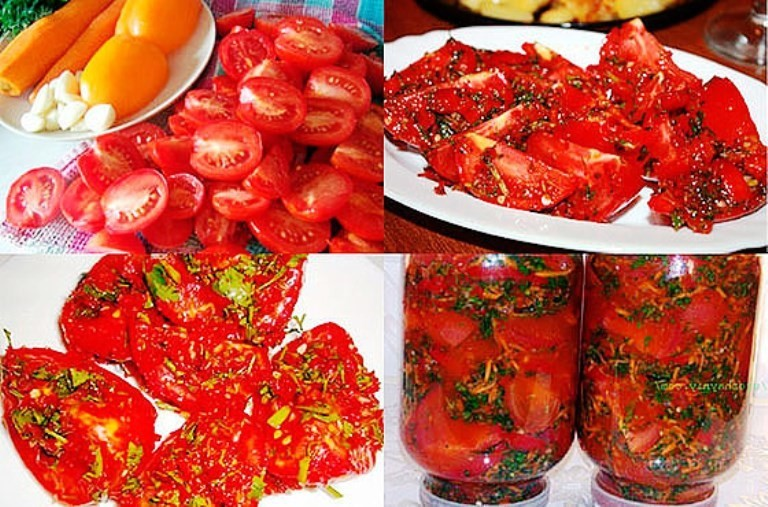 Вкуснейшие маринованные помидоры по-корейски — рецепты острой закуски