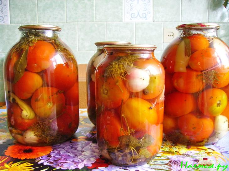 Помидоры с лимонной кислотой на зиму + простой рецепт маринада на 1 литр воды