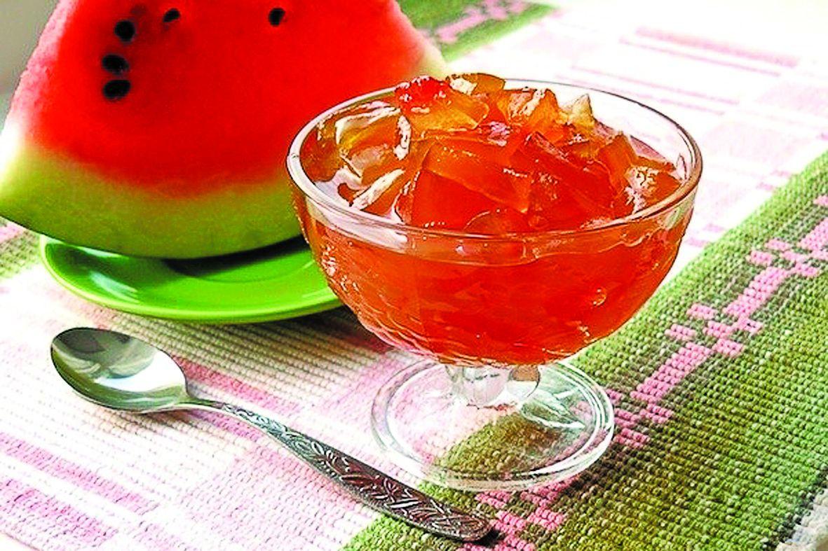 Варенье из арбуза: только проверенные рецепты приготовления / заготовочки