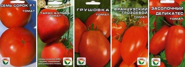 Урожайные сорта томатов для теплицы: самые лучшие, ранние для подмосковья, сибири, урала