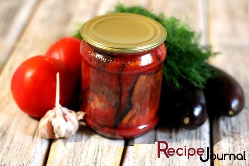 Тещин язык из баклажанов на зиму - самые вкусные рецепты приготовления