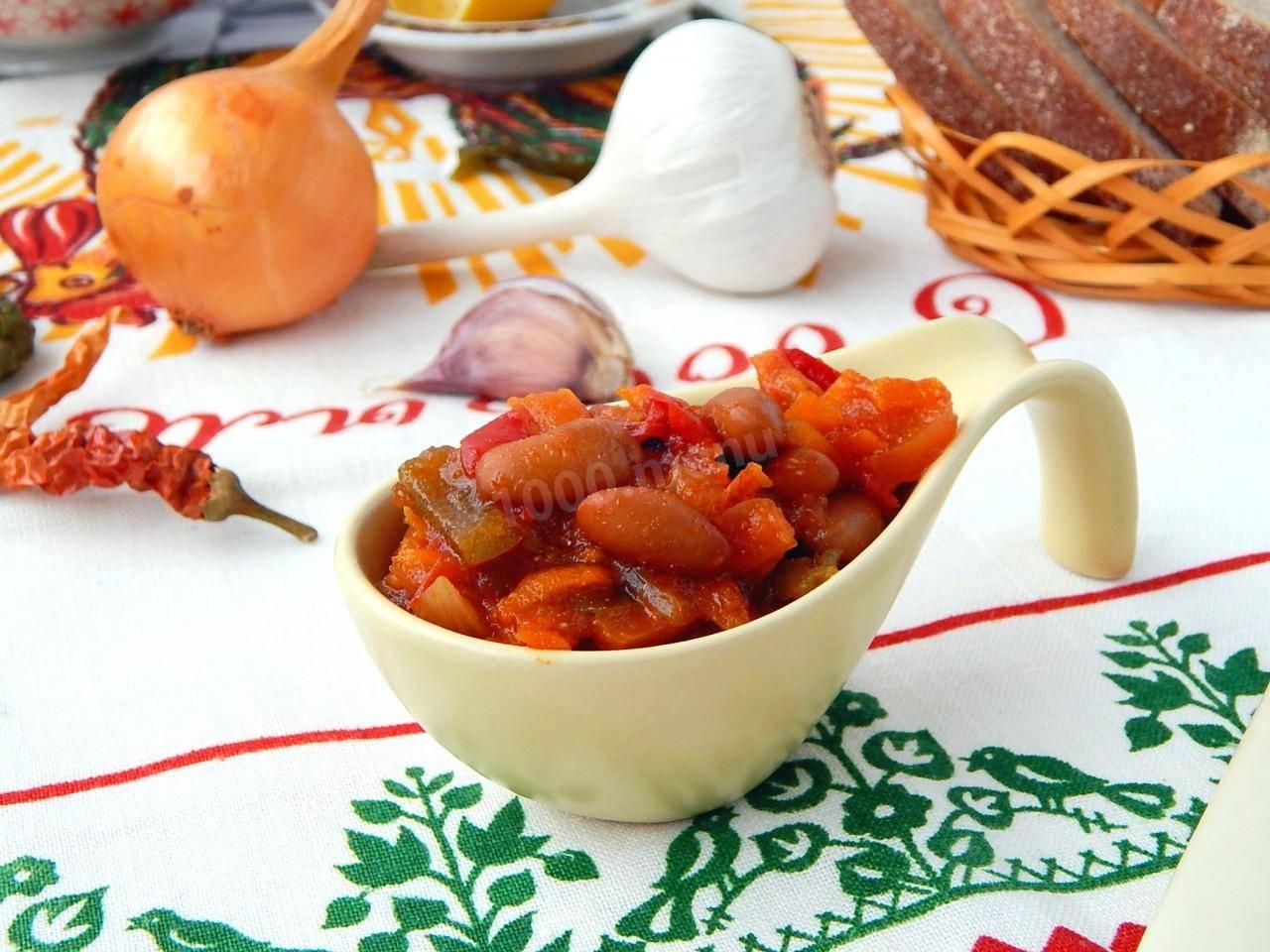 Консервируем красную фасоль: рецепты как консервировать салаты с фасолью на зиму в домашних условиях