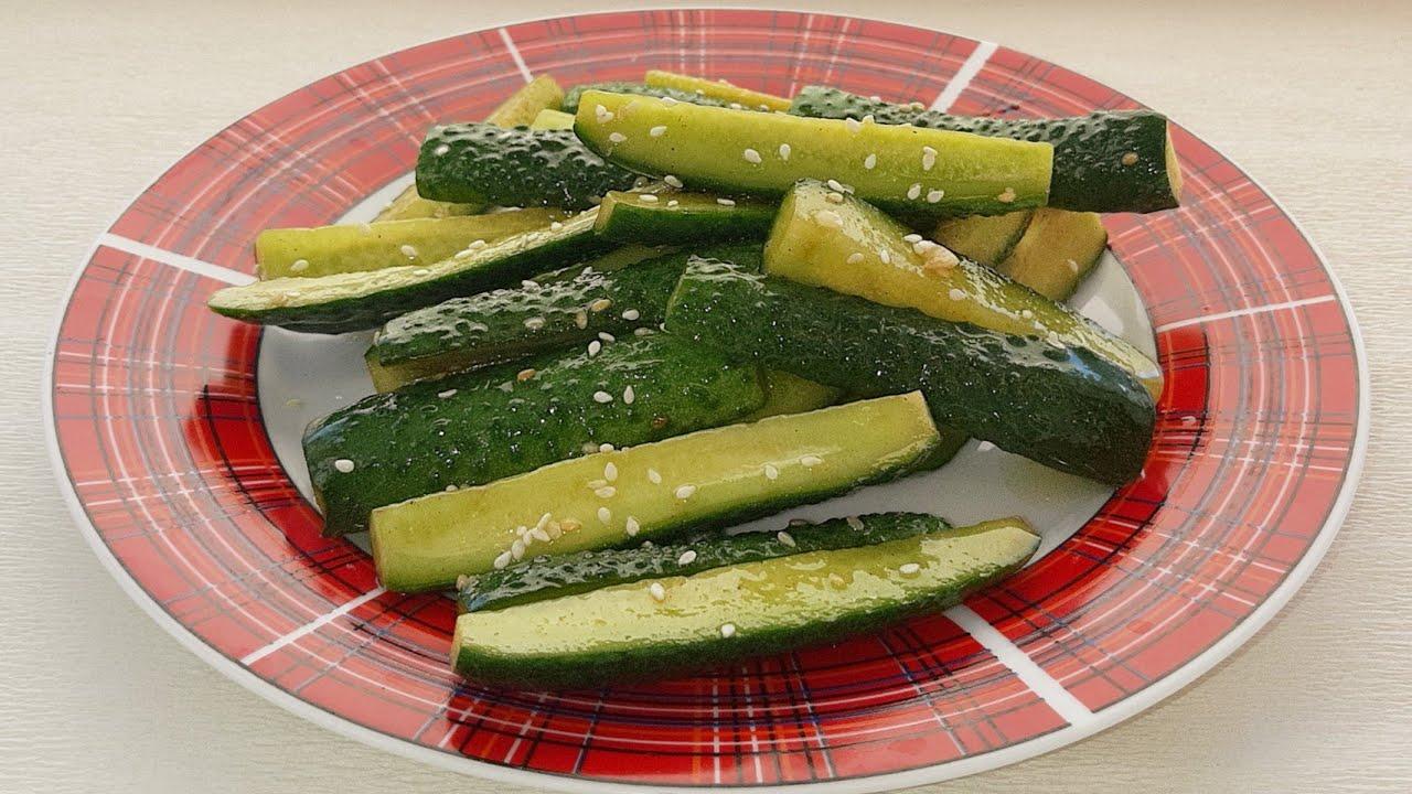 Огурцы по-корейски быстрого приготовления - кулинарные рецепты. самые вкусные и простые рецепты огурцов по-корейски быстрого приготовления и на зиму