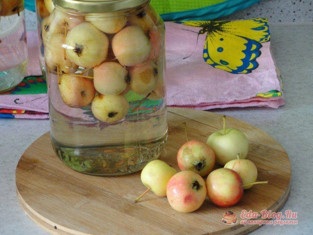 Компот из яблок на зиму на 3 литровую банку — 7 простых рецептов