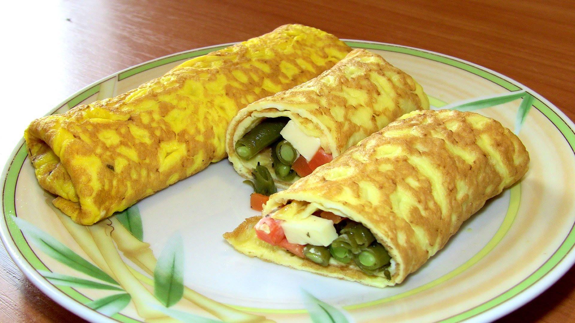Блины с ветчиной, сыром и зеленью - рецепт с фотографиями - patee. рецепты