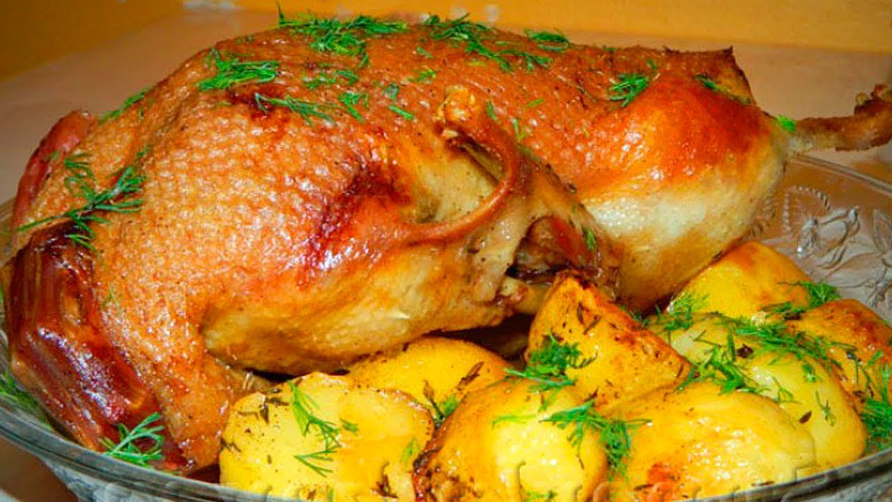Утка запеченная в духовке — лучшие рецепты. как правильно и вкусно готовить утку в духовке.