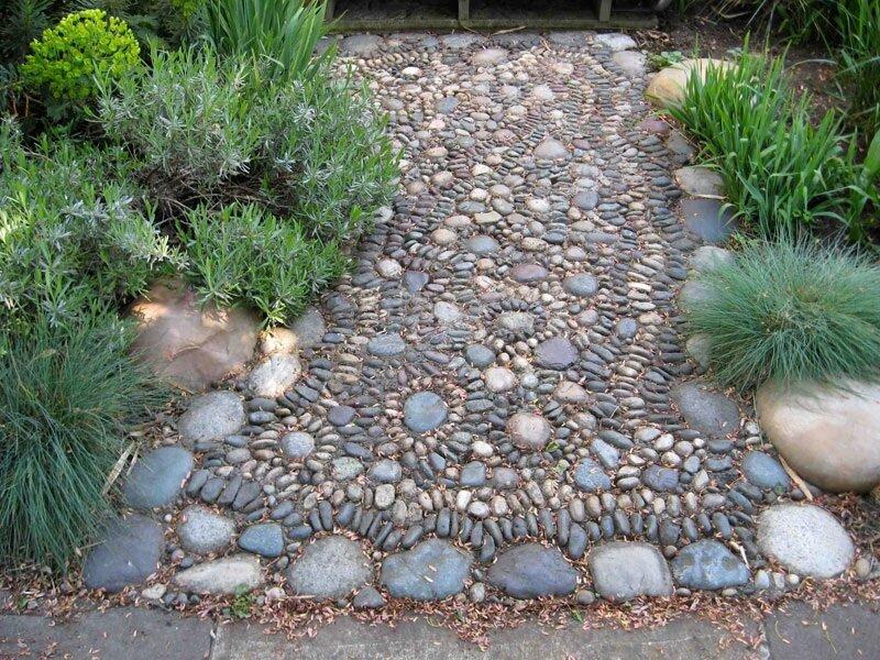 Садовые дорожки своими руками — как сделать красивые дорожки быстро и просто из подручных материалов (100 фото)
