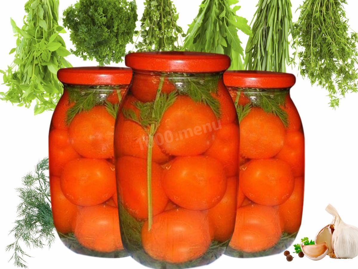 Помидоры с морковной ботвой: рецепты на зиму