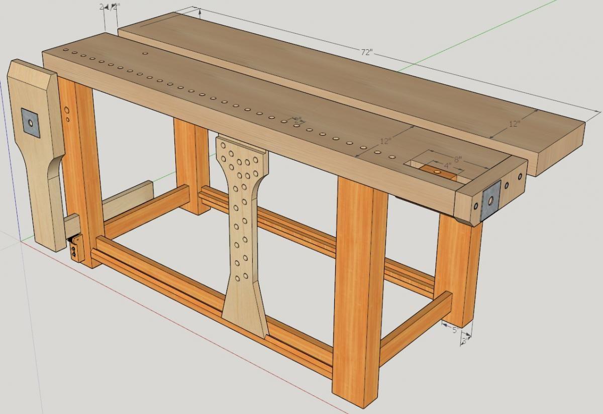 Как сделать верстак: особенности изготовления   моя дача как сделать верстак: оборудуем рабочее место на даче   моя дача