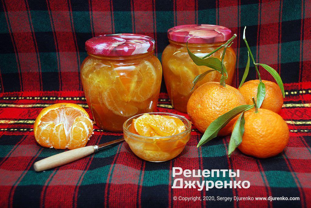 Как приготовить варенье из мандаринов дольками и с кожурой и сварить мандариновый компот (рецепты с фото)