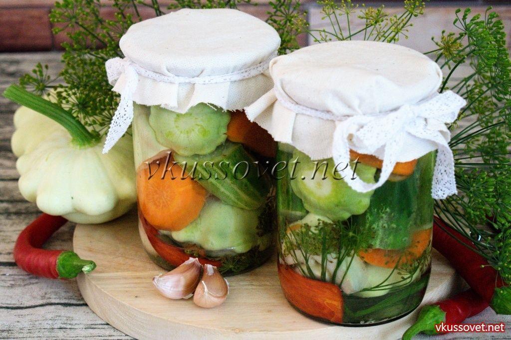 Маринованные патиссоны: быстрые и вкусные рецепты