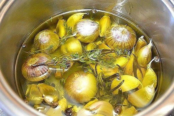 Чеснок в масле на зиму- пошаговый рецепт приготволения с фото
