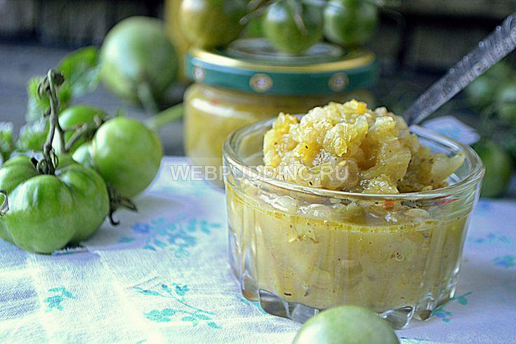 Зеленая аджика - грузинские и абхазские рецепты на зиму, из зеленых помидоров, острого перца и с яблоками