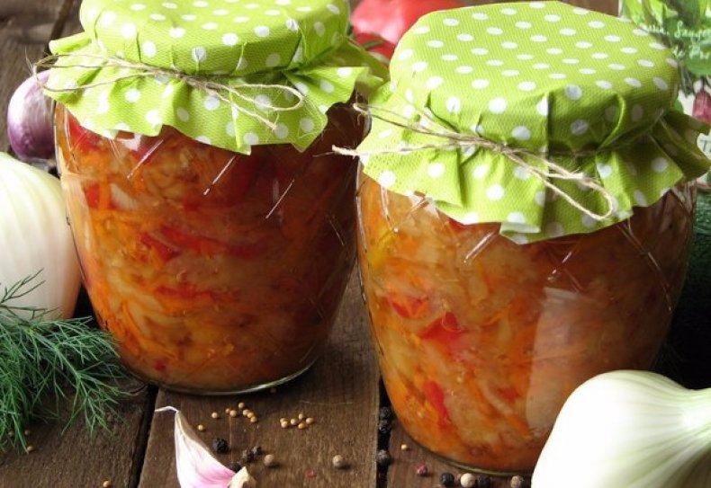 Кулинария мастер-класс рецепт кулинарный готовят все салат из капусты и кабачков на зиму продукты пищевые