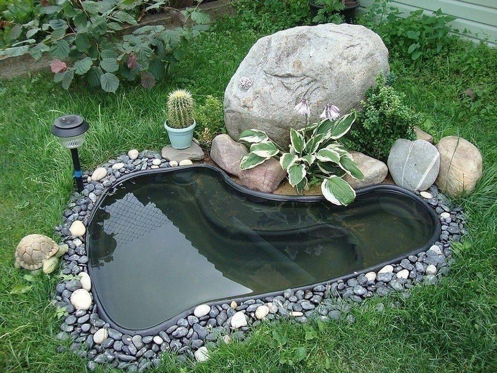 Осуществляем давнюю мечту, или как правильно обустроить пруд в своем саду
