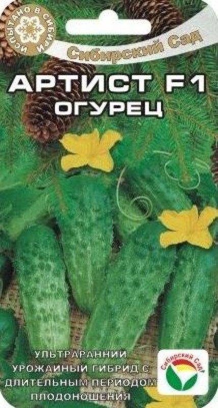 Огурцы артист: описание сорта с фото, выращивание, отзывы о семенах и урожае