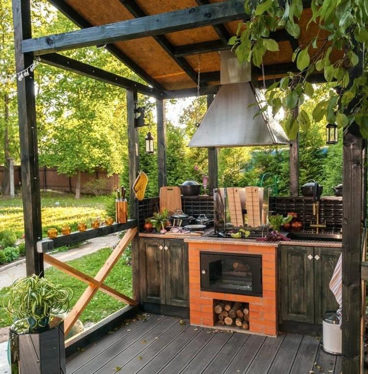 Летняя кухня на даче: 50 фото, проекты, рекомендации